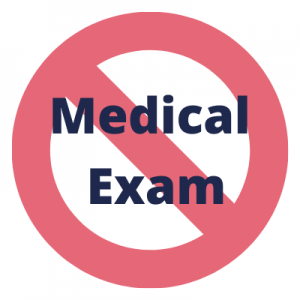 no medical check insurance no medical exam insurance